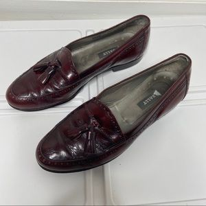 Bally Italian Leather David Loafers 9.5 D